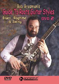 Bob Brozman's Guide to Roots Guitar Styles - DVD 2: Blues, Ragtime & Swing - (Region 1 Import DVD)