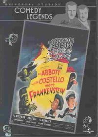 Abbott & Costello Meet Frankenstein - (Region 1 Import DVD)