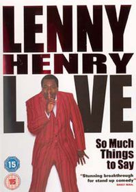 Lenny Henry-So Much Things To - (Import DVD)