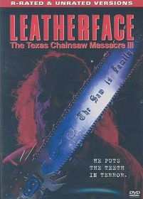 Leatherface: The Texas Chainsaw Massacre 3 - (Region 1 Import DVD)