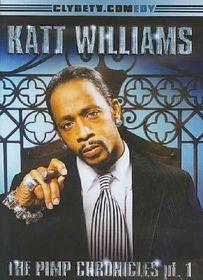 Katt Williams the Pimp Chronicle Pt 1 - (Region 1 Import DVD)