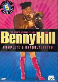 Benny Hill Set 5 - Complete & Unadulterated - (Region 1 Import DVD)