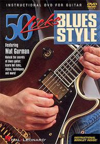 50 Licks Blues Style - (Import DVD)