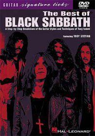 Black Sabbath Guitar Licks - (Import DVD)