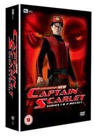 Captain Scarlet Series 1 & 2 (8 Discs-Cgi Version) - (Import DVD)