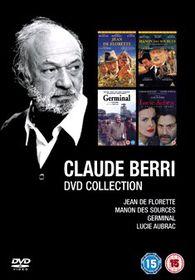 Claude Berri Box Set (4 Discs) - (Import DVD)