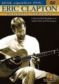 Eric Clapton-Signature Licks 3 (Acoustic Guitar) - (Import DVD)