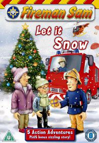 Fireman Sam - Let It Snow - (Import DVD)