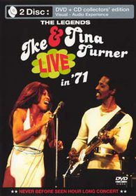 Ike & Tina Turner-Holland 1971 (+ CD) - (Import DVD)