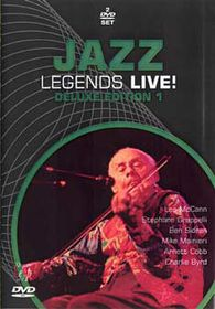 Jazz Legends Live-Deluxe (2 Discs) - (Import DVD)