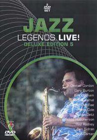 Jazz Legends Live-Deluxe Edi.5 (2 Discs) - (Import DVD)