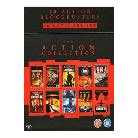 Jerry Bruckheimer Collection Import Dvd Buy Online In South