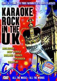 Karaoke-Rock In the Uk - (Import DVD)