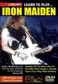 Learn to Play Iron Maiden Guitar Tech - (Region 1 Import DVD)