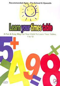 Learn Your Times Table - (Import DVD)