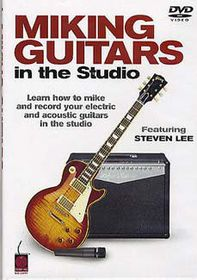 Miking Guitars In the Studio - (Import DVD)
