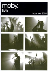 Moby-Hotel Live (+ CD) - (Import DVD)