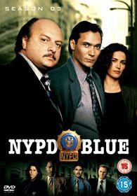 Nypd Blue Season 3 (6 Discs) - (Import DVD)