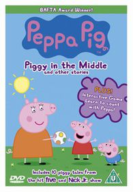 Peppa Pig 4 - Piggy in the Middle - (Import DVD)