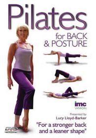 Pilates For Back & Posture - (DVD)