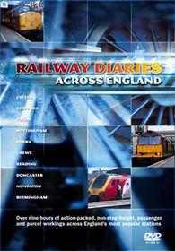 Railway Diaries Across England (3 Discs) - (Import DVD)