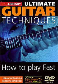 Ultimate Guitar-Play Fast 1 - (Import DVD)