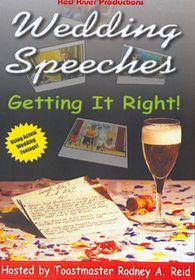 Wedding Speeches-Get It Right - (Import DVD)