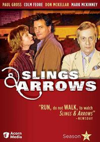 Slings & Arrows Season 2 - (Region 1 Import DVD)
