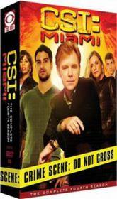 Csi:Miami the Complete Fourth Season - (Region 1 Import DVD)
