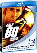 Gone in 60 Seconds - (Region A Import Blu-ray Disc)