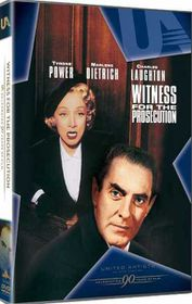 Witness For The Prosecution (1957)(DVD)