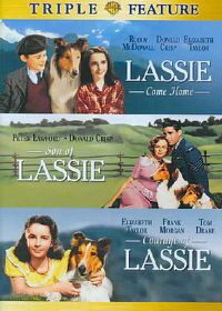 Lassie Come Home/Son of Lassie/Courage of Lassie - (Region 1 Import DVD)