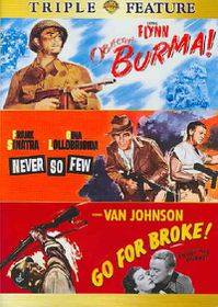 Objective, Burma!/Never So Few/Go for Broke - (Region 1 Import DVD)