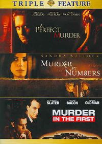Perfect Murder/Murder by Numbers/Murder in the First - (Region 1 Import DVD)