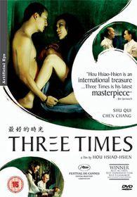 Three Times - (Import DVD)