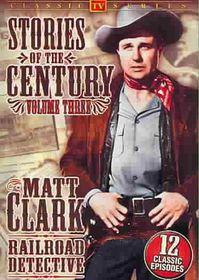 Stories of the Century Vol. 2: Matt Clark Railroad Detective - (Region 1 Import DVD)
