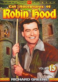 Adventures of Robin Hood Vol 15 - (Region 1 Import DVD)