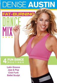 Denise Austin:Fat Burning Dance Mix - (Region 1 Import DVD)