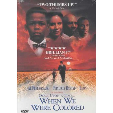 Once Upon A Time When We Were Colored Region 1 Import Dvd