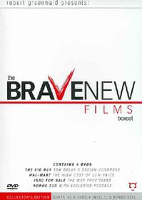 Brave New Films Box Set - (Region 1 Import DVD)