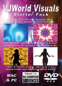 Vj World Visuals Starter Pack - (Region 1 Import DVD)