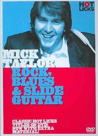 Mick Taylor - Rock, Blues and Slide Guitar - (Region 1 Import DVD)