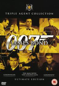 James Bond Ultimate Golden Set (Import DVD)