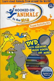 Hooked on Animals in the Wild Super Activity Kit - (Region 1 Import DVD)