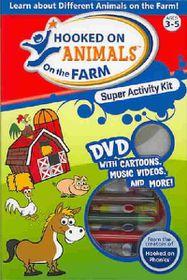 Hooked on Animals on the Farm Super Activity Kit - (Region 1 Import DVD)