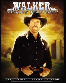 Walker, Texas Ranger: The Complete Second Season - (Region 1 Import DVD)