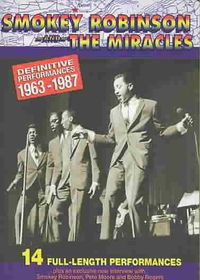 Smokey Robison, the Miracles - Definitive Performances 1963 To 1987 (DVD)