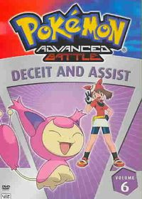 Pokemon Advanced Battle Vol 6:Deceit - (Region 1 Import DVD)