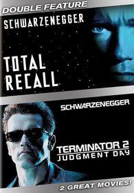 Terminator 2: Judgment Day/Total Recall - (Region 1 Import DVD)