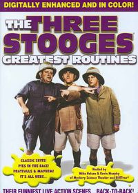 Three Stooges:Greatest Routines - (Region 1 Import DVD)